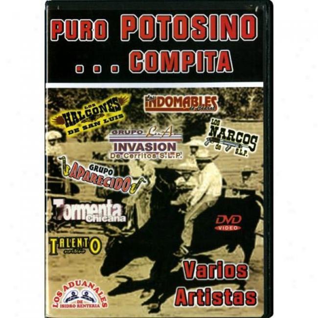 Puro Potosino... Compita (music Dvd) (amaray Case)