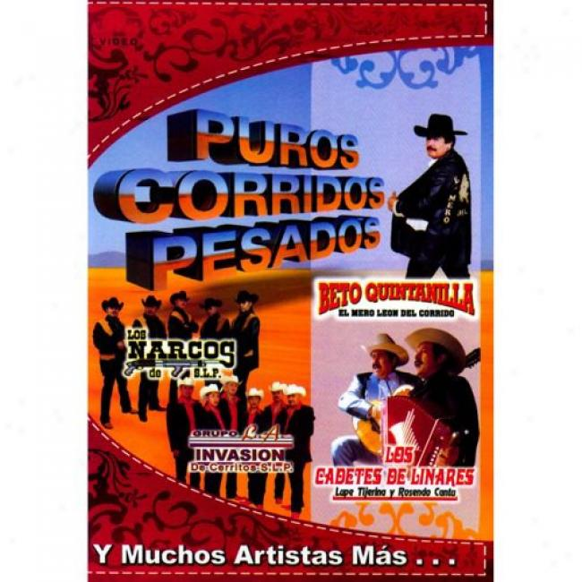 Phros Corridos Pesados (music Dvd) (amaray Case)
