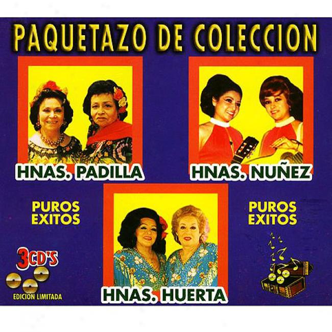 Puros Exitos (limited Edition) (3 Disc Box Set) (remaster)