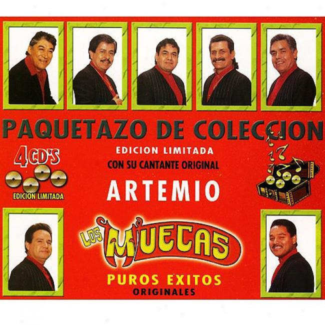 Puros Exitos (limited Edition) (4cd) (remaster)