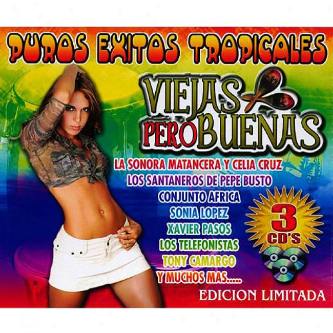 Puros Exitos Tropicales (limited Edition) (3cd)