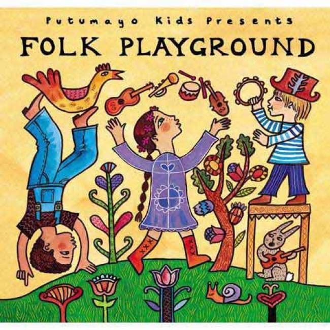 Putumayo Kids Presents: Folk Playground (digi-pak)