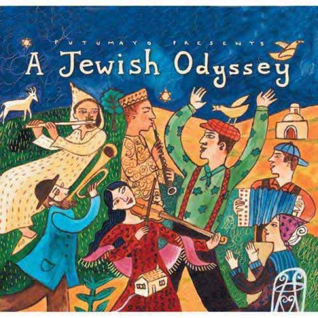 Putumayo Presents: A Jewish Odyssey (digi-pak)