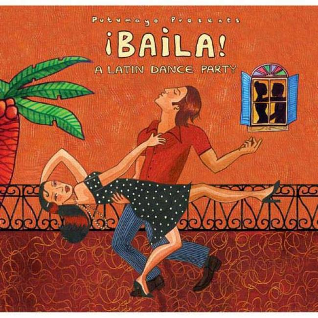 Putumayo Presents: Bailz! - A Latin Dance Party (digi-pak)