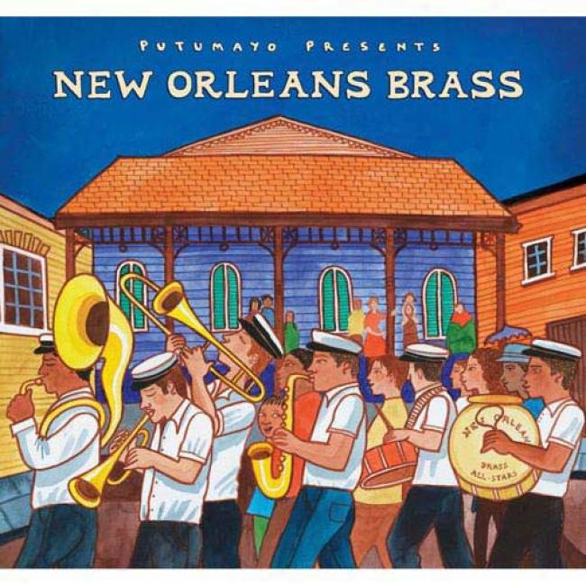 Putumayo Presents: New Orleans Brass (digi-pak)