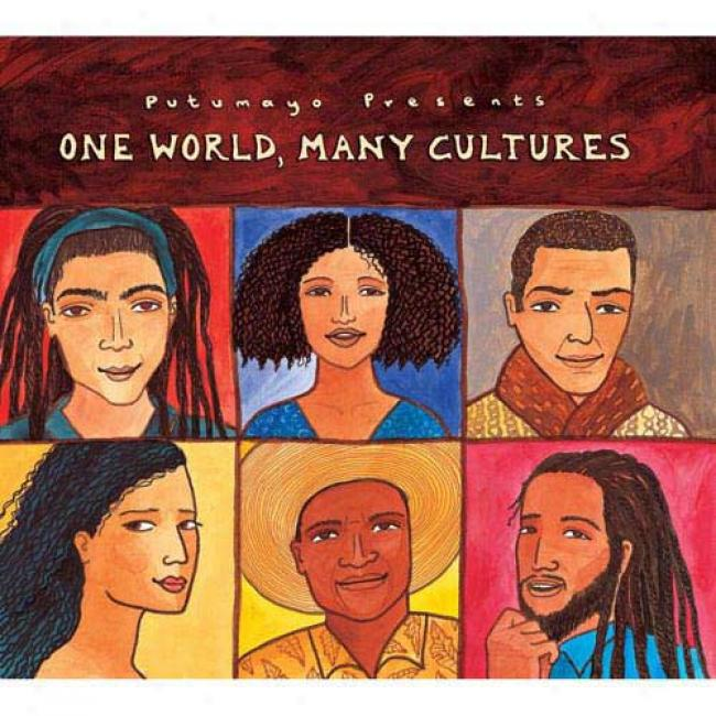 Putumayo Presents: One World, Many Cultures (digi-pak)