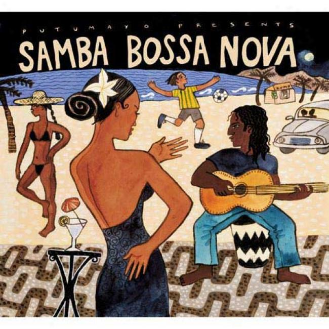 Putumayo Presents: Samba Bossa Nova (digi-pak)