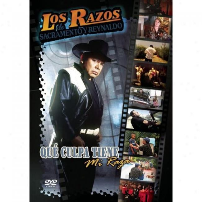 Que Culpa Tiene Mi Raza (music Dvd) (amaray Case)