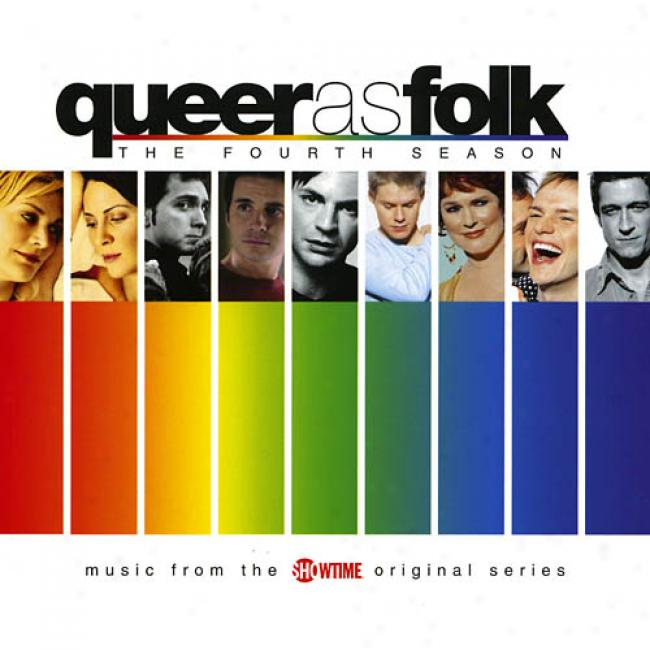 Queer As Folk: The Fourt Season Soundtrack (cd Slipcase)