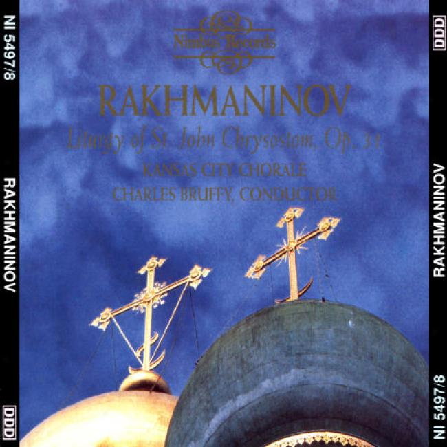 Rachmaninov: Liturgy Of St. John Chrysostom Op.31 (2cd)