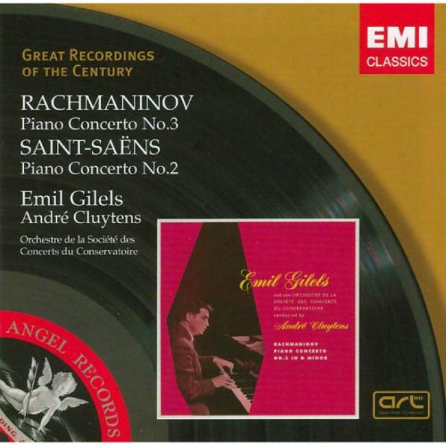 Rachmaninov: Piano Concerto No.3/saint-saens: Piano Concerto No.2 (remaster)