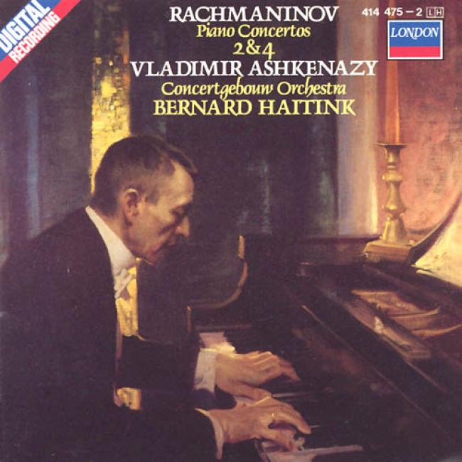 Rachmaninov: Piano Concertos 2 And 4 Ashkenazy, Haitink