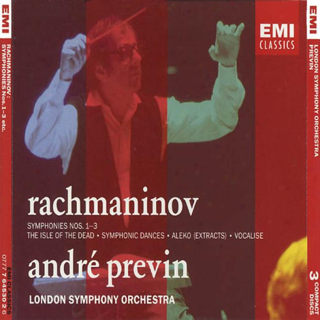 Rachmaninov: Symphonies Nos.1-3, Etc. (3cd) (remaster)