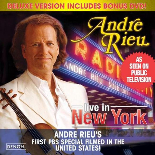 Radio City Music Hali Live In New York (deluxe Edition) (includes Dvd) (cd Slipcase)