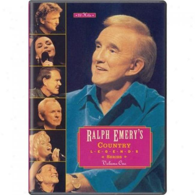 Ralph Emery's Nation Legends Series, Vol.1 (music Dvd) (amaray Case)