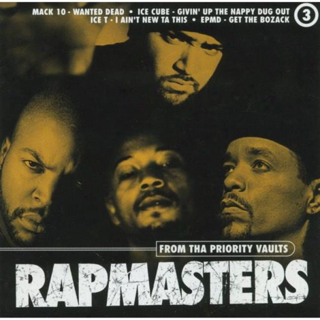Rapmasters: From Tha Priority Vaults, Vol.3 (edited)