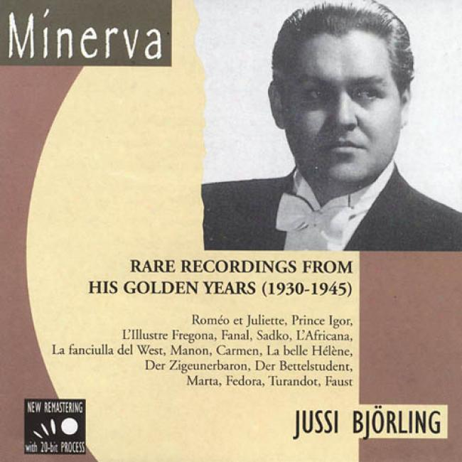 Rare Recordings Ffom His Golden Years (1930-1945) (remaster)