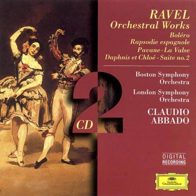 Ravel: Orchestral Works/ Abbado, Boston So, London So