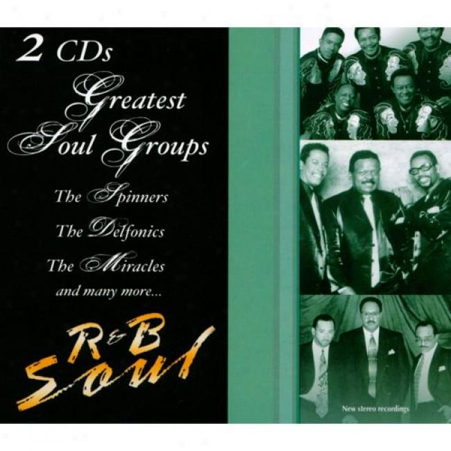 R&b Soul: Greatest Soul Groups (2cd) (digi-pak)