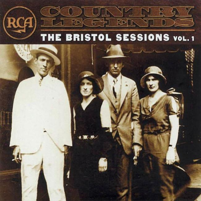 Rca Country Legends: The Bristol Sessions, Vol.1 (remaster)