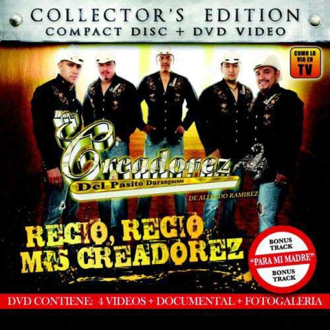 Recio, Recio Mis Creadorez (collector's Edition) (includes Dvd)