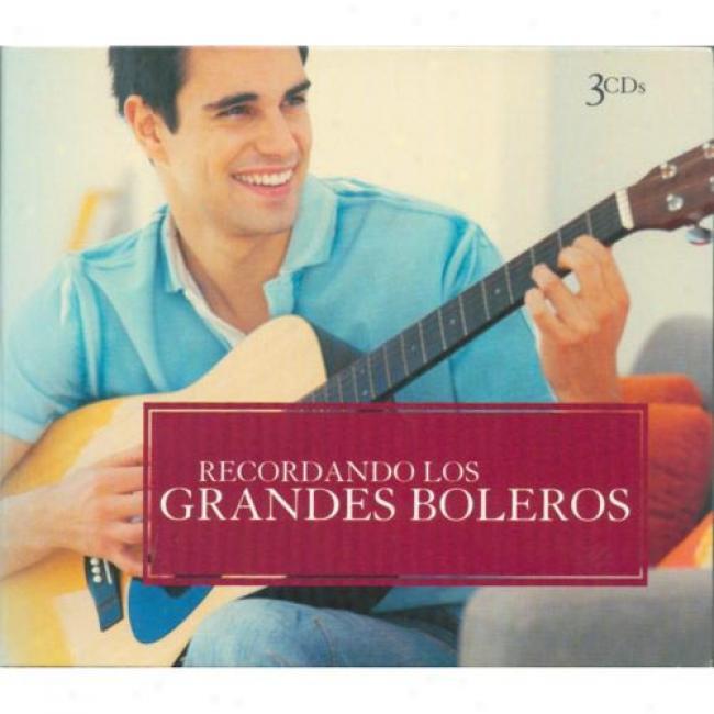 Recordando Los Grandes Boleros (3cd) (digi-pak)