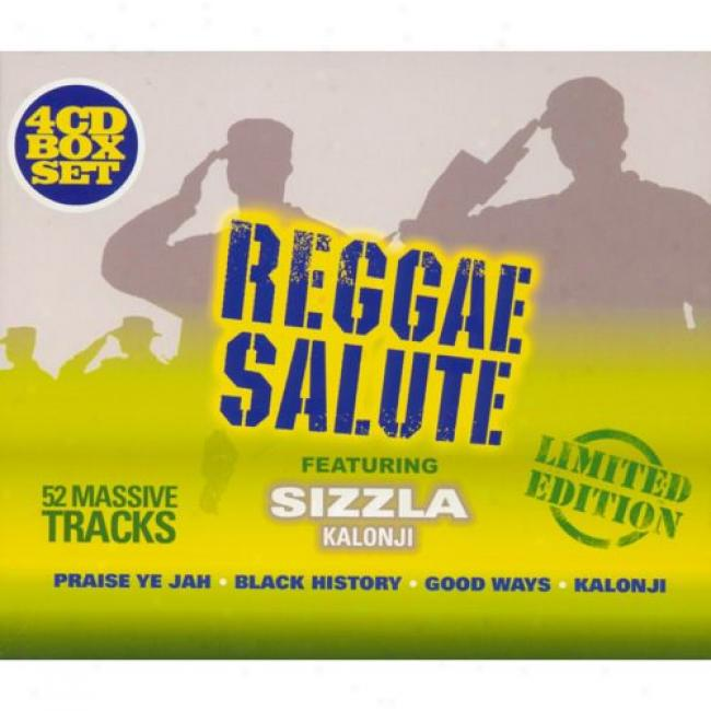 Reggae Salute (limited Edition) (4 Disc Box Set)