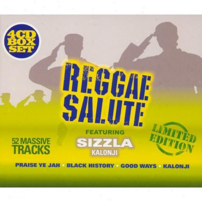 Reggae Salute (limited Edition) (4 Disc Box Set)