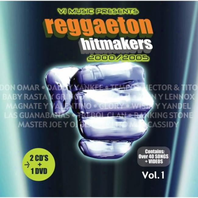 Reggaeton Hitmakers: 2000/2005 (2cd) (includes Dvd)