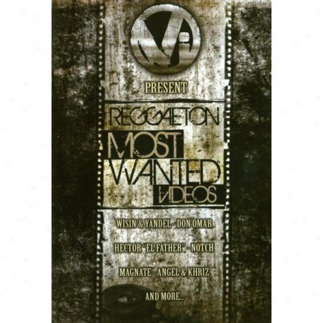 Reggaeton Most Wanted Videos (music Dvd) (amarsy Case)