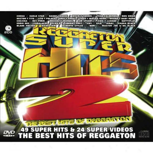 Reggaeton Super Hits, Vol.2 (2cd) (includes Dvd)