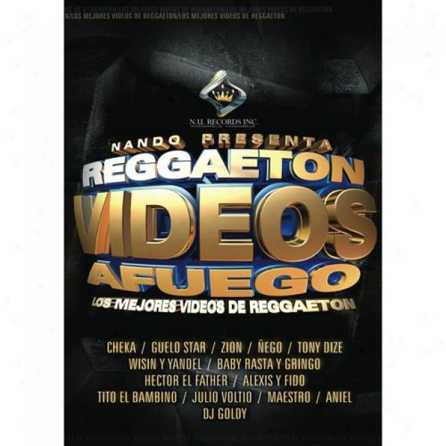 Reggaeton Videos Afuego (music Dvd) (amaray Cover )