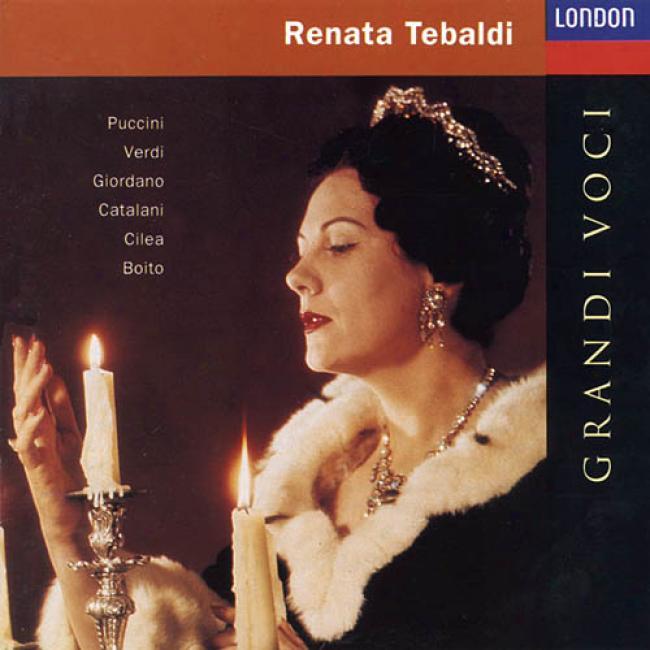 Renata Tebaldi: Grandi Voci - Italian Opera Arias