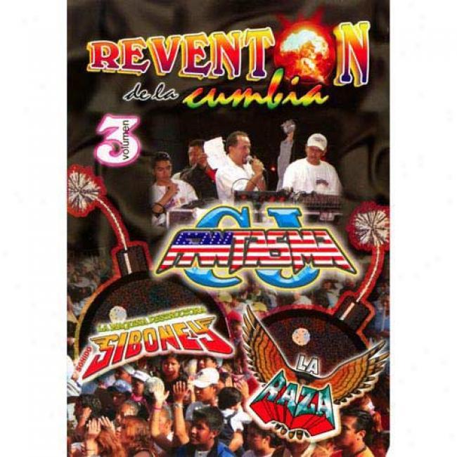 Reventon De La Cumbia, Vol.3 (music Dvd) (amaray Case)