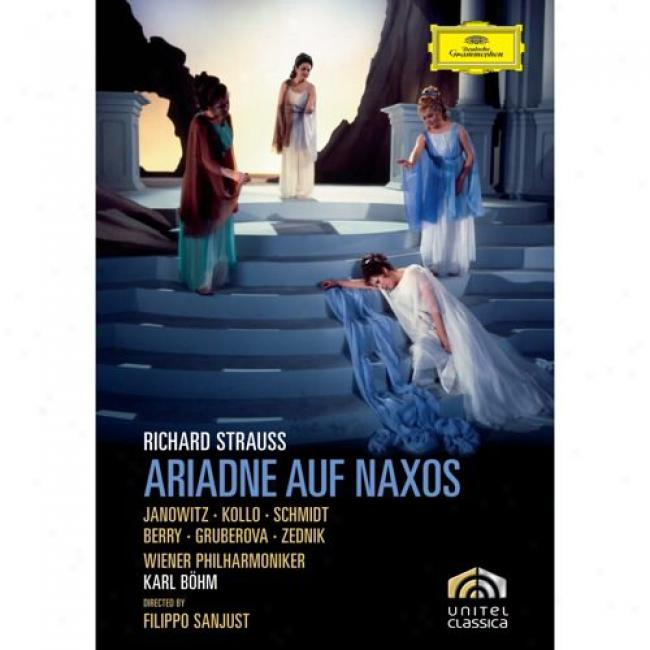 Richard Strauss: Ariadne Auf Naxos (music Dvd) (amaray Csae)