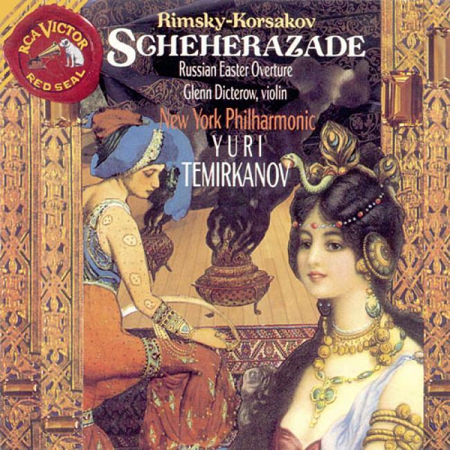 Rimsky-korsakov: Scheherazade Op.35/russian Easter Overture Op.36