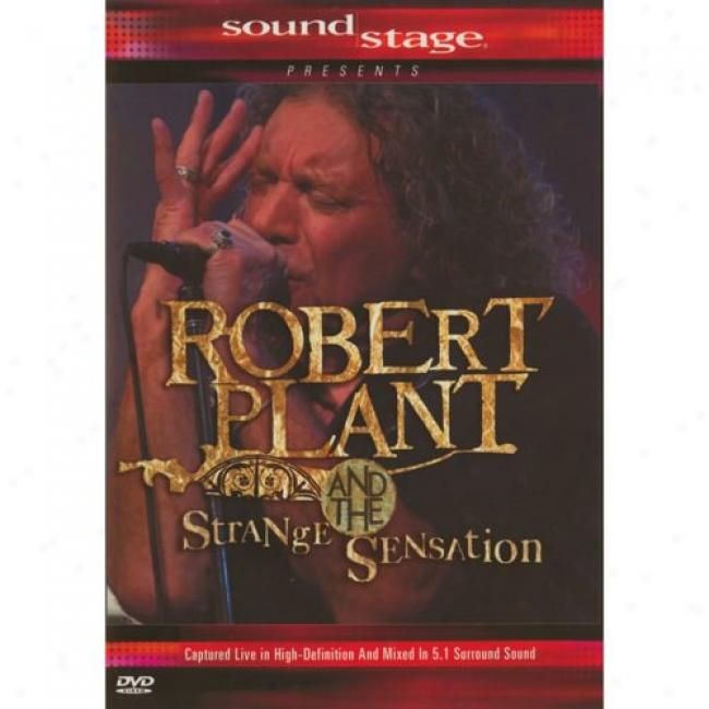 Robert Set & The Strange Sensation (music Dvd) (amaray Case)