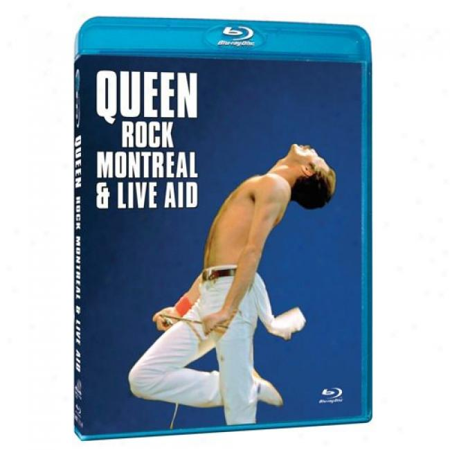 Rock Montreal & Live Aid (music Blu-ray) (bd Amaray)
