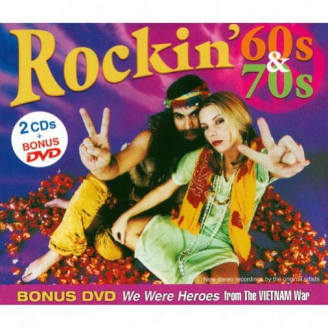 Rockin' 60s & 70s (2cd) (includes Dvd) (xigi-pak)