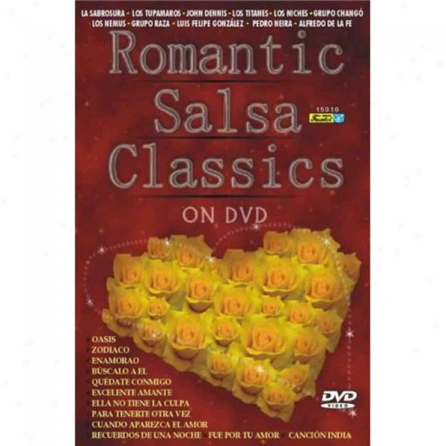 Romantic Salsa Classics (music Dvd) (amaray Case)