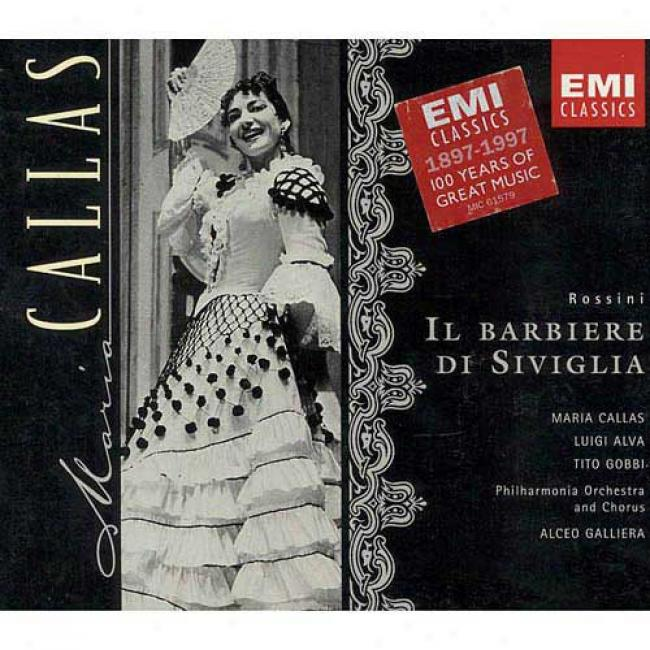 Rossini: Il Barbiere Di Siviglia (2cd) (cd Slipcase) (remaster)