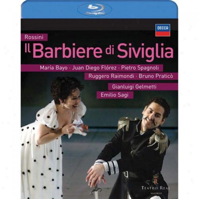 Rossini: Il Barbiere Di Siviglia (music Blu-ray) (bd Amaray Case)