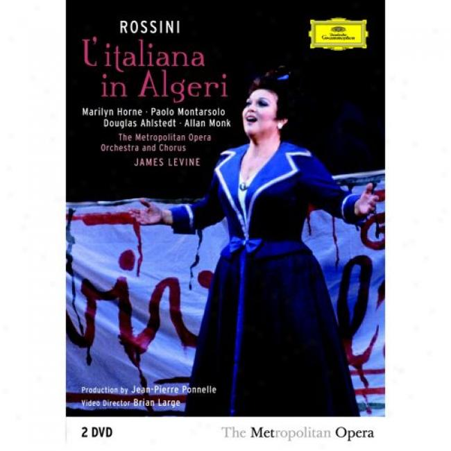 Rossini: L'italiaan In Algeri (2 Discs Music Dvd) (amaray Case)