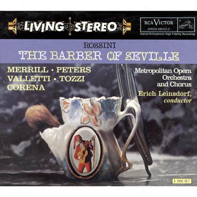 Rossini: The Barber Of Seville (3cd) (cd Slipcase) r(emaster)