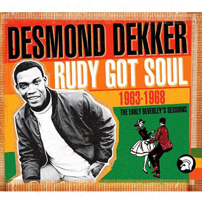 Rudy Got Soul: The Early Beverly Sessions 1963-1968 (2cd) (cd Slipcase) (remaster)