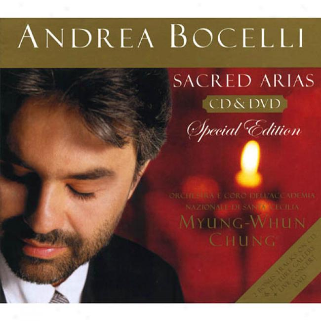 Sacred Arias (limited Edition) (2cd) (digi-pak) (includes Bonus Dvd)