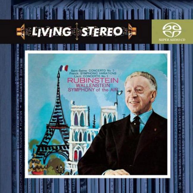 Saint-saens: Concerto No.2/franck: Symphonic Variations/liszt: Concerto No.1