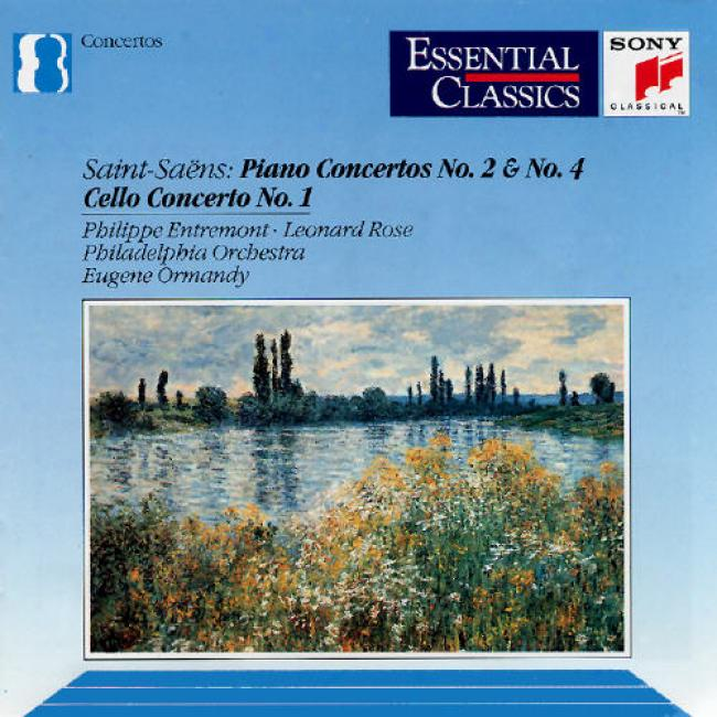 Saint Saens: Piano Ckncertos No.2 And No.4/cello Concerto No.1