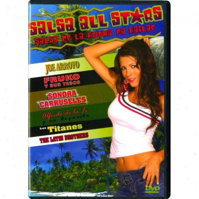 Salsa De Ls Buena Pa Bailar (music Dvd) (amaray Instance)