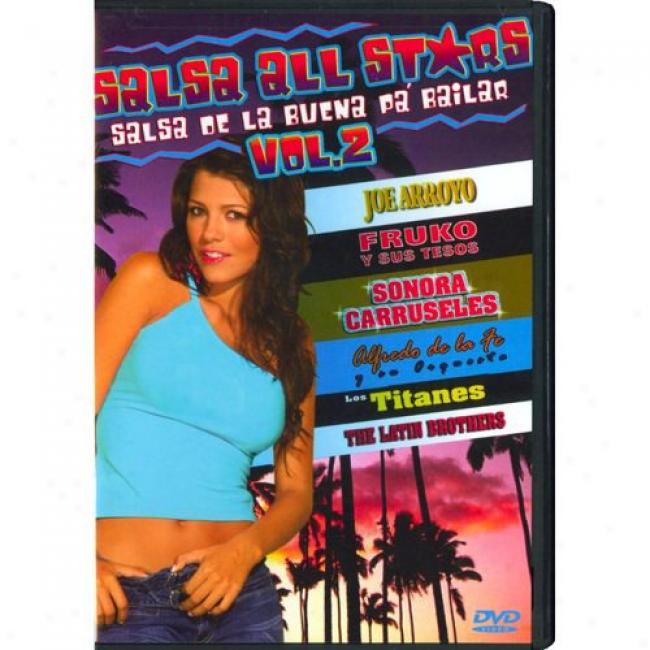 Salsa De La Buena Pa Bailar, Vol.2 (music Dvd) (amaray Case)